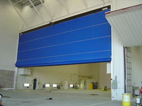 Why Should You Use A Royal Overhead Door Fabric Door Solution: